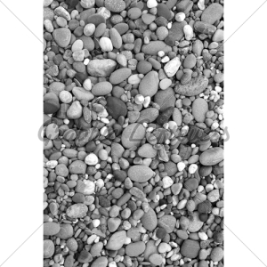 black-and-white stones