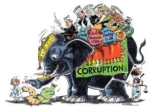 corruption elephant
